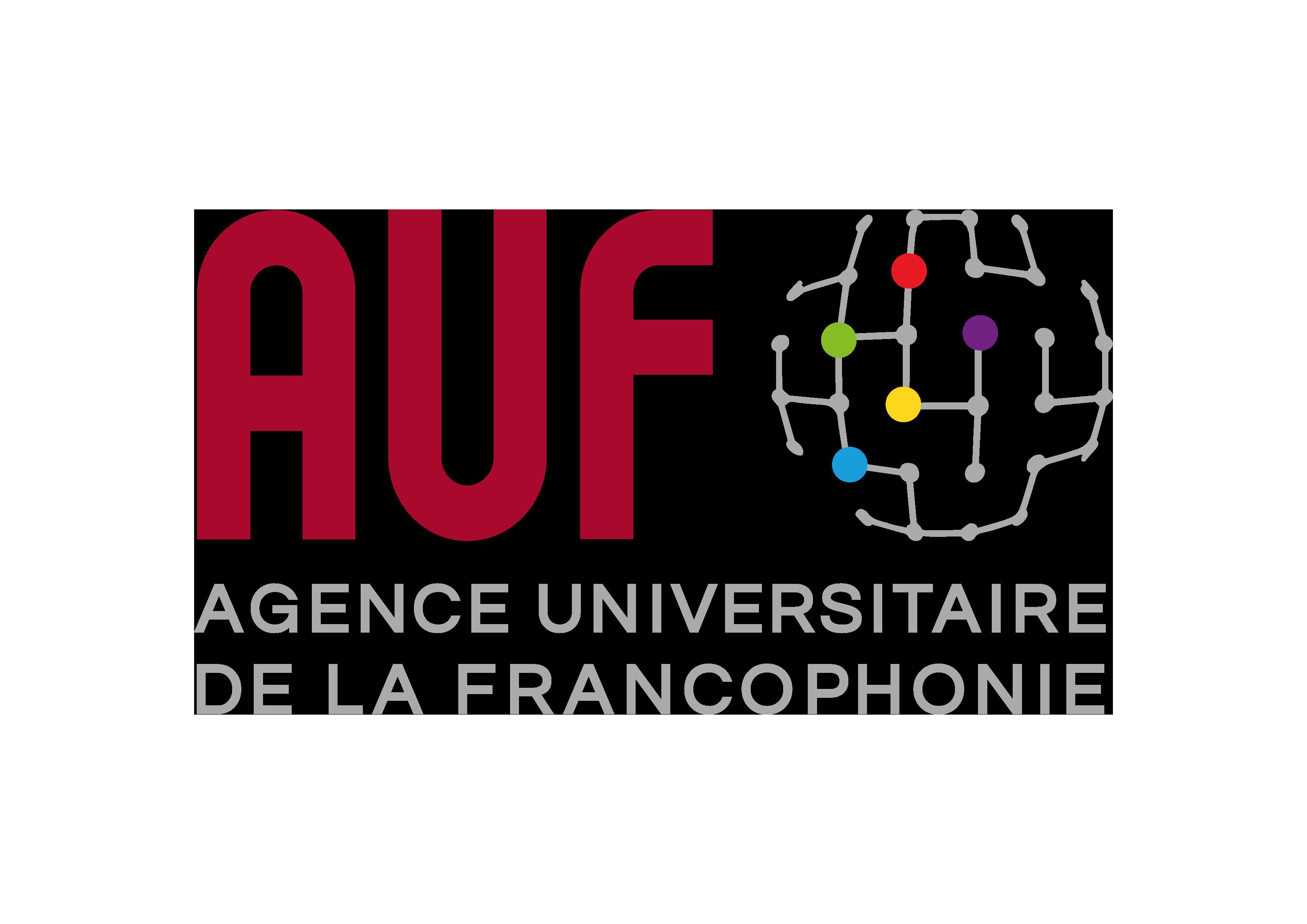 Logo de l'AUF - Agence universitaire de la francophonie
