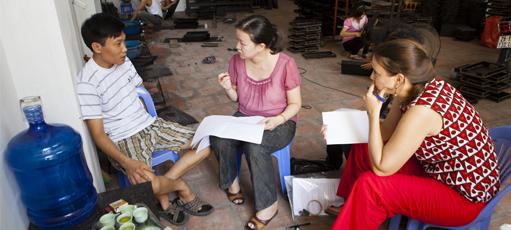 Enquête sur le secteur informel au Vietnam © IRD / François Carlet-Soulages