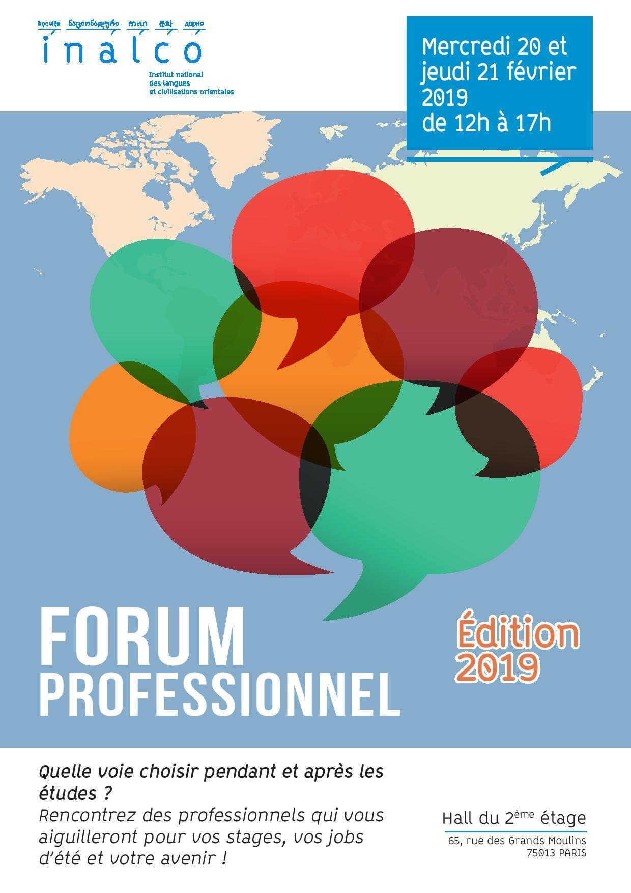 Affiche Forum pro 2019