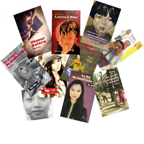 couvertures de livre d'auteurs vietnamiens
