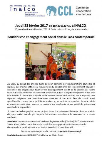 Bouddhisme et engagement social dans le Laos contemporain