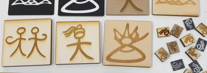 Prototypage de symboles dongba