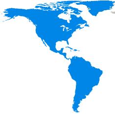 Région du monde - Amériques