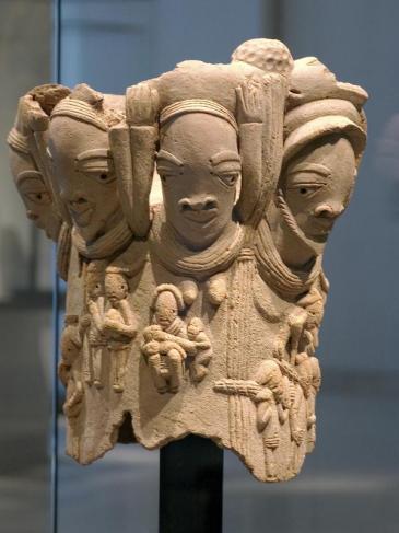 Statue Nok exposée… au musée du Louvre