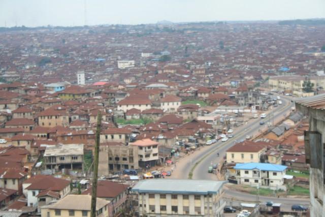 Vue générale d'Ibadan