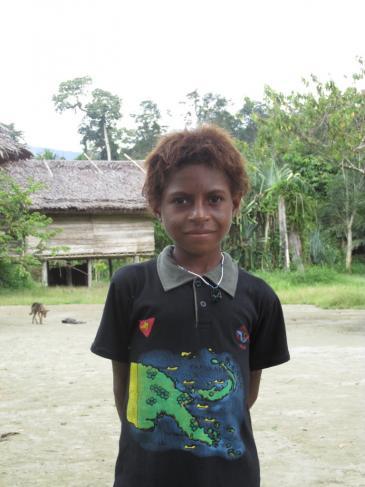Portrait d'un enfant (Papouasie-Nouvelle-Guinée)