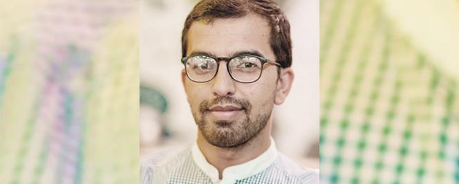Portrait d'Abdul Azam Azizi, diplômé du DIU Inalco)