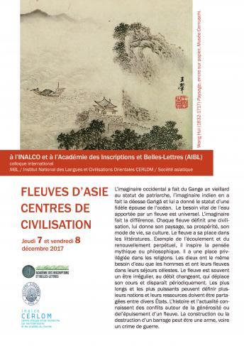 Fleuves d'Asie, centres de civilisation