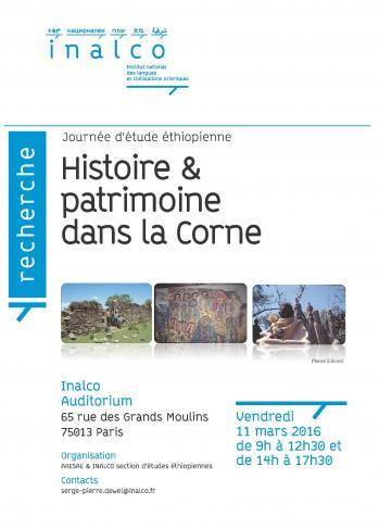 Histoire et patrimoine dans la Corne