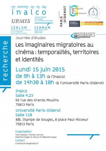 Les imaginaires migratoires au cinéma : temporalités, territoires et identités