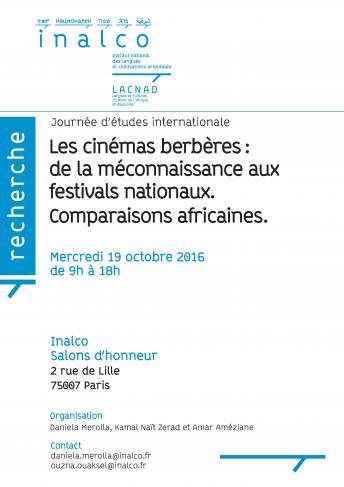Les cinémas berbères : de la méconnaissance aux festivals nationaux. Comparaisons africaines