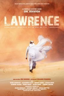 affiche de la pièce de théâtre Lawrence