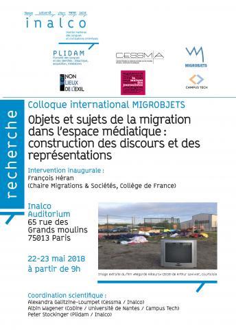 Objets et sujets de la migration dans l'espace médiatique : construction des discours et des représentations
