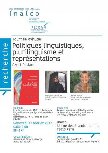 Politiques linguistiques, plurilinguisme et représentations