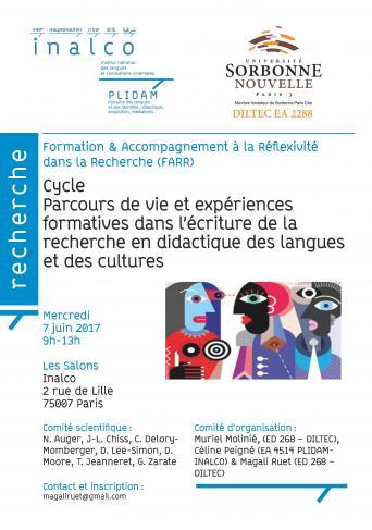 Parcours de vie et expériences formatives dans l'écriture de la recherche en didactique des langues et des cultures