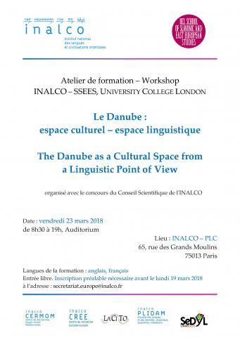 Le Danube : espace culturel – espace linguistique