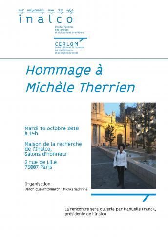 Hommage à Michèle Therrien