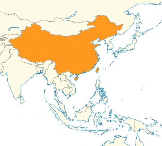 carte locuteurs chinois