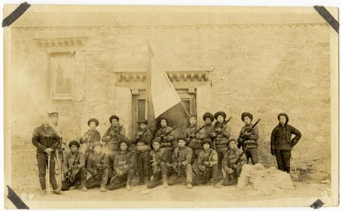 Photographie de l'armée chinoise en 1998 par Henry Martin