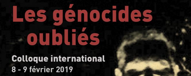 Les génocides oubliés (affiche)