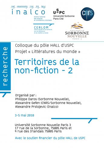 Territoires de la non fiction - 2