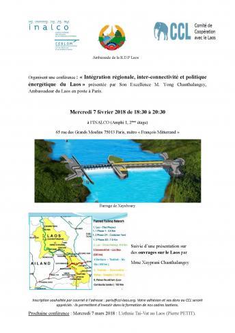 Intégration régionale, inter-connectivité et politique énergétique du Laos