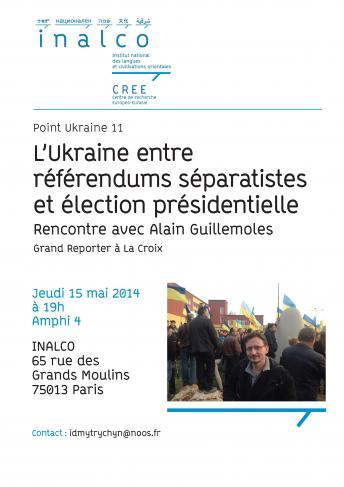 L'Ukraine entre référendums séparatistes et élection présidentielle