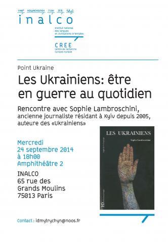 Point Ukraine - Les Ukrainiens : être en guerre au quotidien