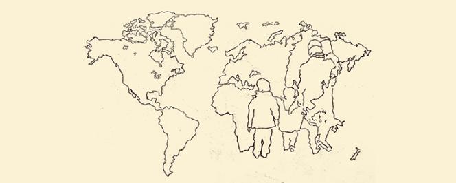 Carte du monde (dessin)