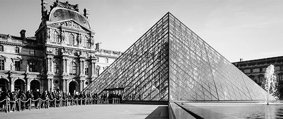 Pyramide du Musée du Louvre