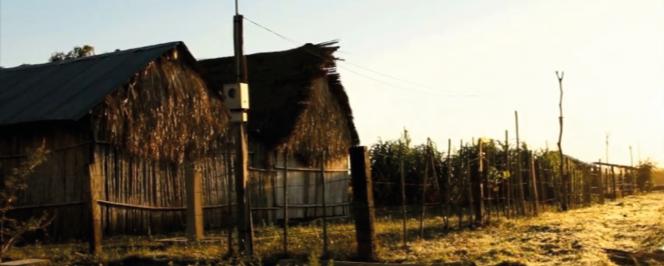 Photographie représentant un village bolivien