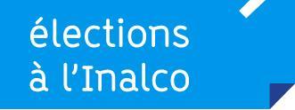 Elections à l'Inalco bleu