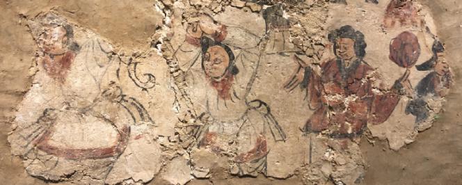 Peinture murale médievale