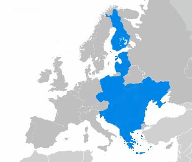Aire des langues enseignées au département Europe centrale et orientales