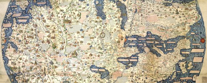 La carte de Fra Mauro (1459)