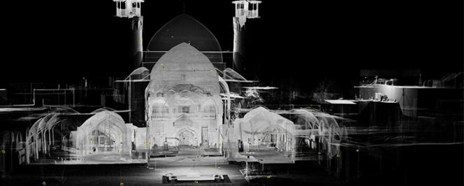 Mosquée de Borujerd (Iran)