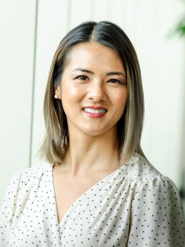 Portrait d'une femme asiatique