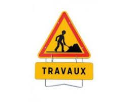 Panneau Travaux