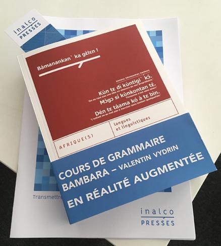 Couverture de l'ouvrage Cours de grammaire bambara