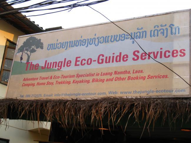 Annonce écotourisme Laos