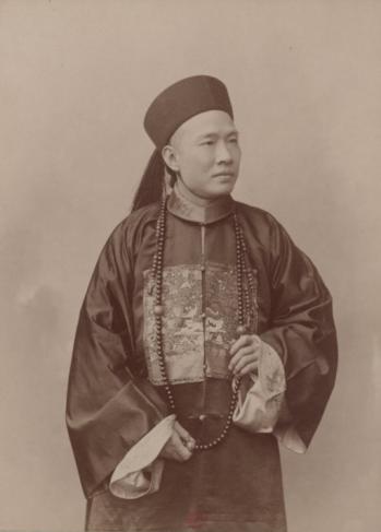Portrait en pied de Chen Jitong