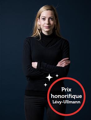 Photo d'Eugénie Mérieau, lauréate du prix de la chancellerie 2018.