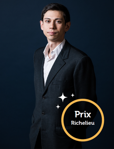 Photo de Simon Ebersolt, lauréat du prix de la Chancellerie 2018