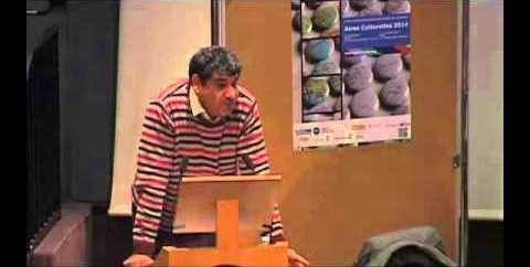 Kadhim J. Hassan, accompagnateur des manifestations sur les réfugiés (USPC et Cycle Migrations).