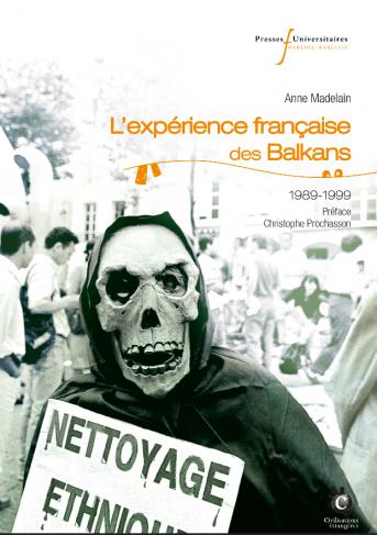 Couverture du livre avec une tête de mort