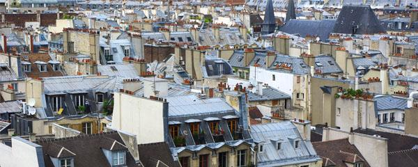 Logement, les toits de Paris