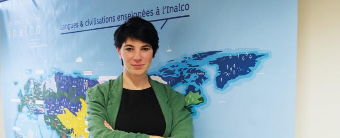 Maud Cittone, coordinatrice de langue en formation continue