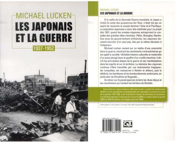 Michael Lucken Les Japonais et la guerre