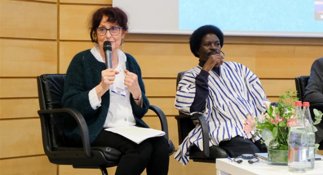 Odile Racine à la Journée internationale de la langue maternelle de l'Unesco
