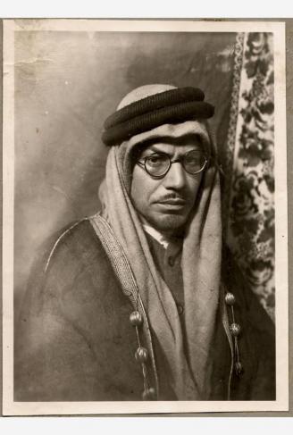 Homme oriental du début du XXème siècle